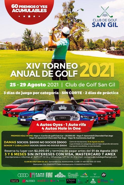 XIV Torneo Anual de Golf