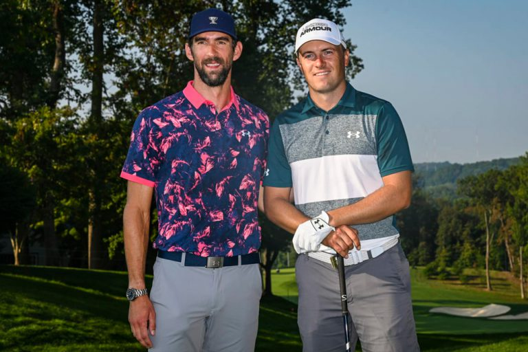 Michael Phelps golf